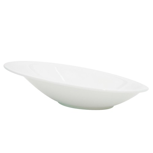 CAC China COL-24 Collection Oval Sheer Bowl 6 oz.