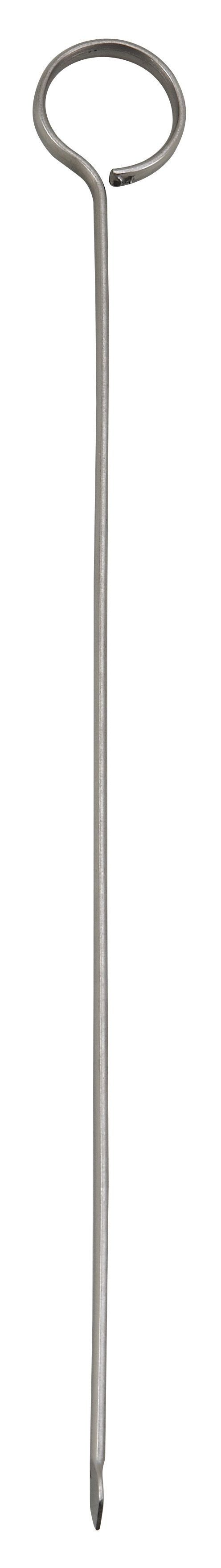 Oval-Tipped Stainless Steel Skewer - 10