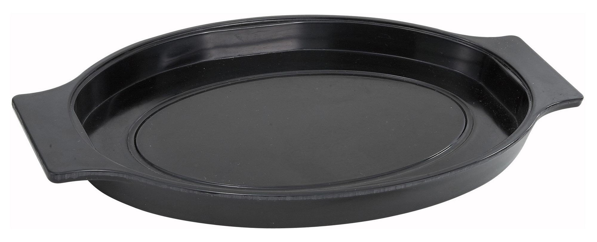 Winco SWU-11 Oval Underliner for Stainless Steel Sizzling Platter