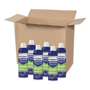 PROCTER & GAMBLE 24-Hour Disinfectant Sanitizing Spray, Citrus, 15 oz, 6/Carton