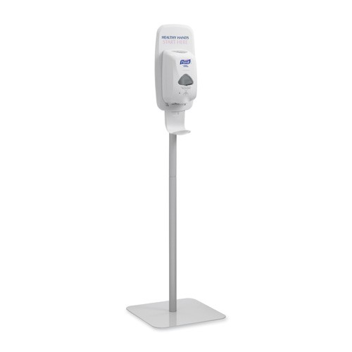 PURELL TFX Floor Stand for TFX Touch Free Dispensers, White