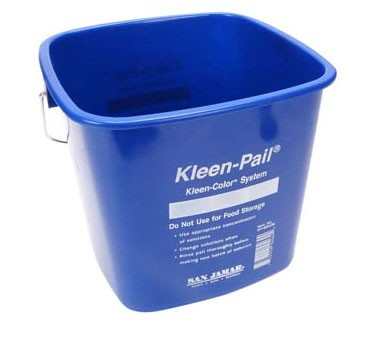 Franklin Machine Products  150-6035 Pail, Cleaning (Blue, 6 Qt )