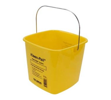 Franklin Machine Products  150-6036 Pail, Cleaning (Yellow, 6 Qt )