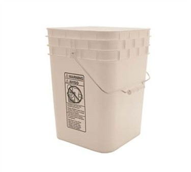 Pail, Grease (Plst, 4 Gal)