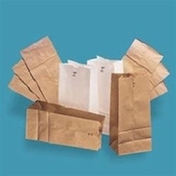 Paper Bag, 30-Pound Base Weight, Brown Kraft, 1#, 3-1/2 x 6-7/8, 500-Bundle