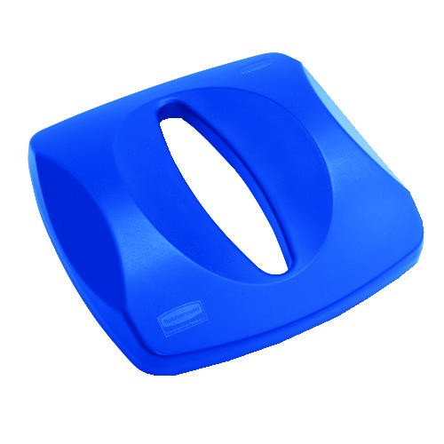 Paper Recycling Top, Blue