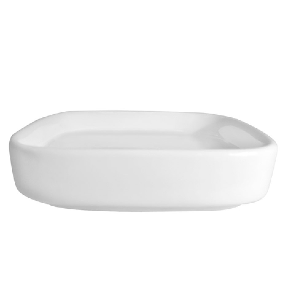 CAC China F-SQ2 Fortune Square Saucer, 3-5/8""