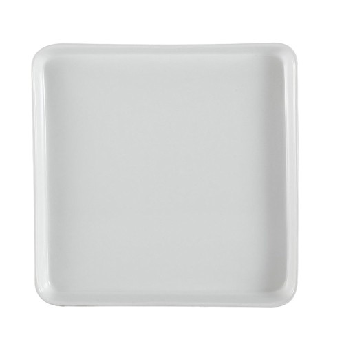 "CAC China F-ST9 Fortune Square 9 1/2"" Tasting Tray"