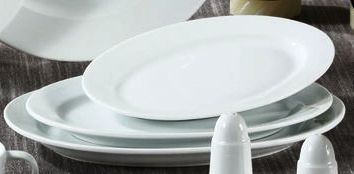 "Yanco PA-210 Paris 10 5/8"" Oval Platter"