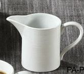 "Yanco PA-PC Paris 3 1/8"" x 3 1/2"" Creamer 6.5 oz."