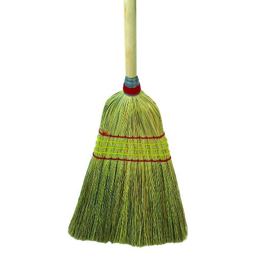 Parlor Broom, Corn Fiber Bristles, 42