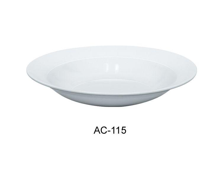"Yanco AC-115 Abco 11-1/2"" Pasta Bowl 25 oz."