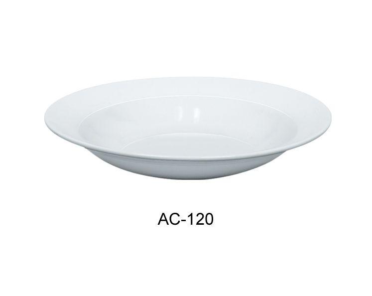 "Yanco AC-120 Abco 12"" Pasta Bowl, 30 oz."