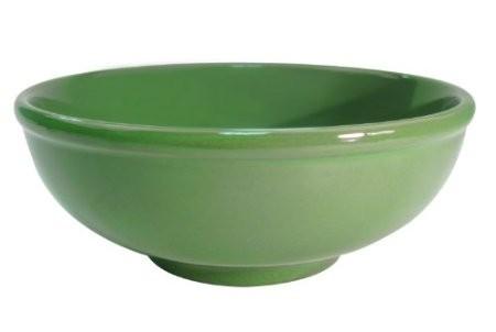 CAC China MB-7-G Festiware Green Menudo Bowl 25 oz.