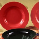 CAC China P-115RED Festiware Red Pasta Bowl 25 oz.