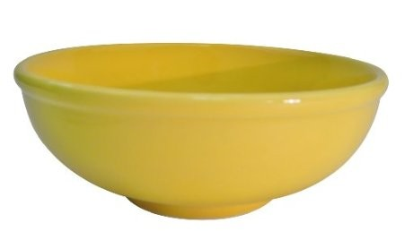 CAC China MB-7YLW Clinton Yellow Menudo Bowl 25 oz.