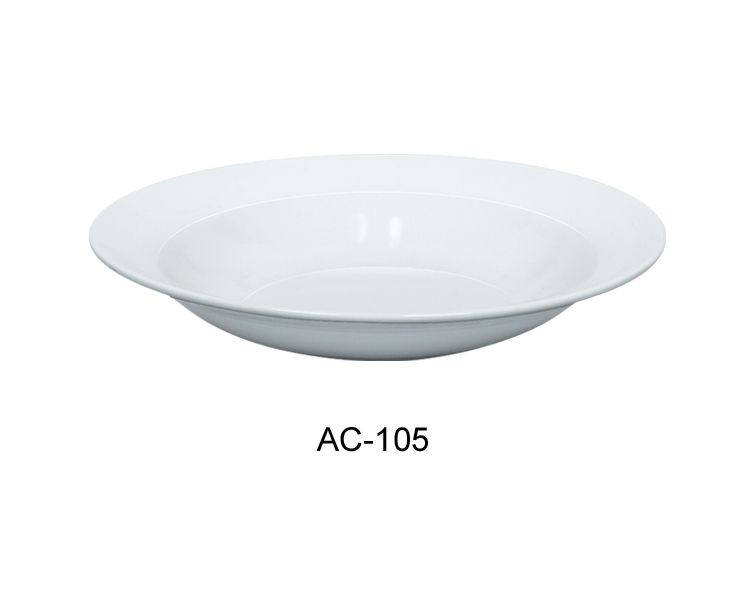 "Yanco ac-105 Abco 10-1/2"" Pasta/Soup Bowl 18 oz."