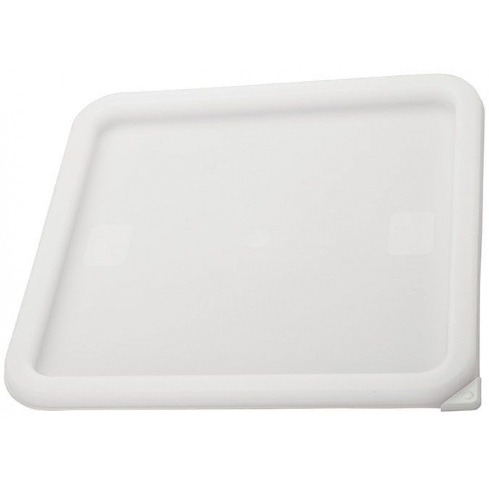 Pe Square Cover, White Fits 12, 18 & 22Qt
