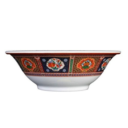Thunder Group 5106TP Peacock Melamine Deep Bowl 15 oz.