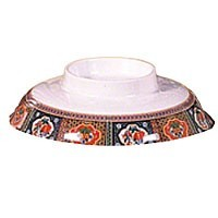 Thunder Group 3201CTP Peacock Melamine Rice/Noodle Bowl Lid 5-1/4""