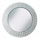 "Jay Companies 1330039 Beaded Mirror Round 13"" Charger Plate"