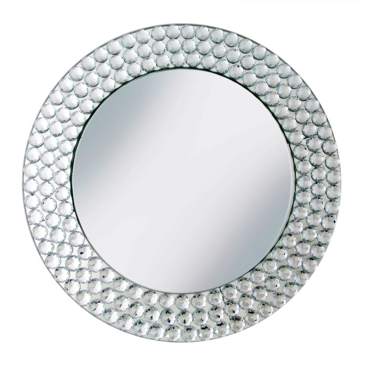 Pebble Mirror Charger Plate 13