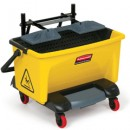Pedal Wring Bucket, Yellow