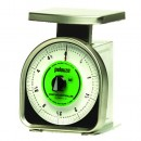 Pelouze Y-Line Mechanical Portion-Control Scale, 5lb Cap, 6 x 6 Platform