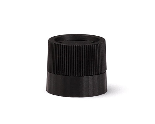 Black Plastic Pepper Grinder Top