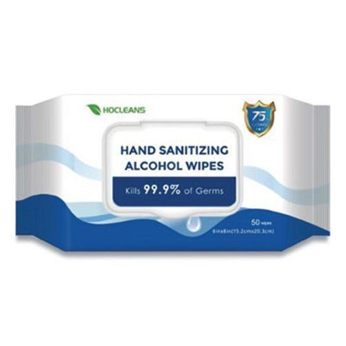 Personal 75% Alcohol Wipes, 50/Pack