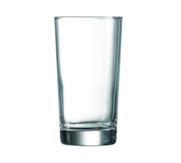 Piazza Elemental 8 Oz. Hi Ball Glass - 4-11/16