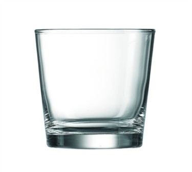 Piazza Elemental 9 Oz. Old Fashioned Glass - 3-1/4