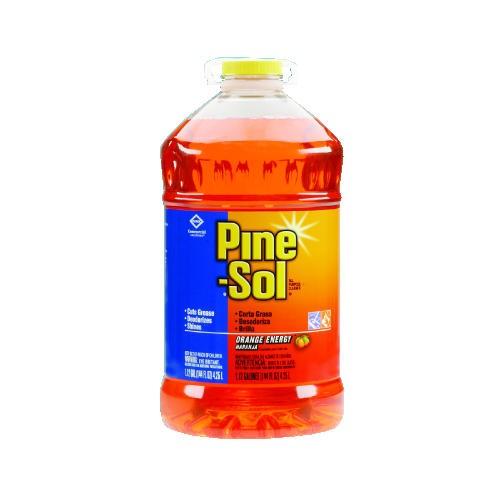 Pine-Sol All-Purpose Cleaner, Orange Scent, 144 oz. Bottle, 3/Carton