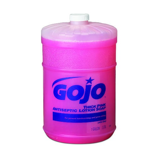 Pink Antimicrobial Lotion Soap, 1 Gallon, Floral Scent