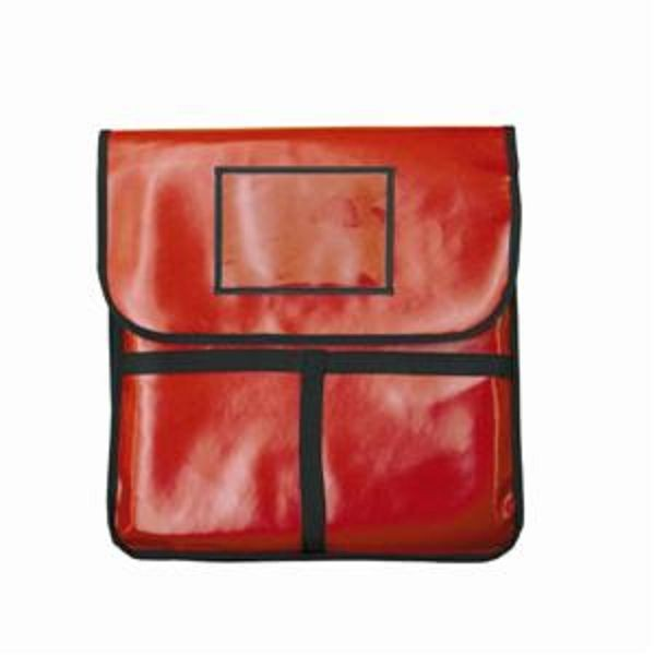 "Thunder Group PLPB018 Insulated Red Pizza Bag 18"" x 18"""