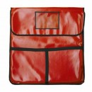 "Thunder Group PLPB020 Insulated Red Pizza Bag 20"" x 20"""