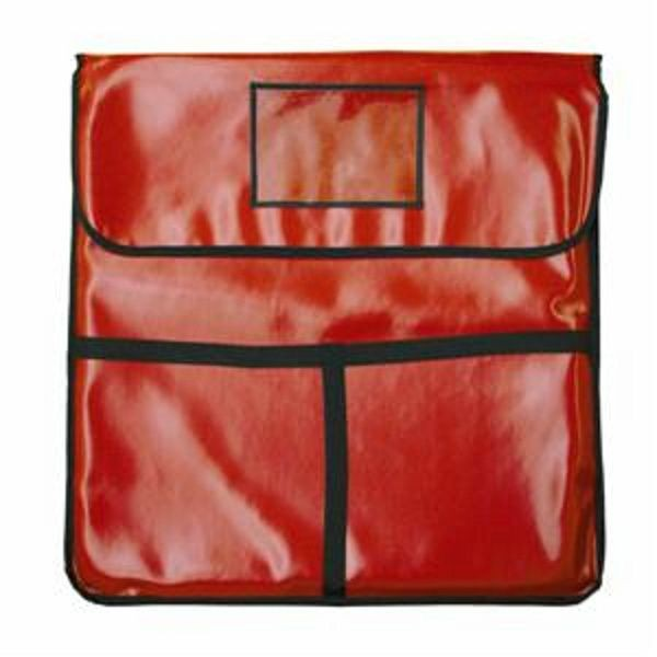 """Thunder Group PLPB020 Insulated Red Pizza Bag 20"""" x 20"""""""