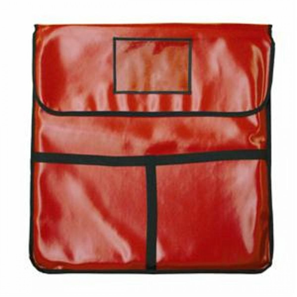 "Thunder Group PLPB024 Insulated Red Pizza Bag 24"" x 24"""