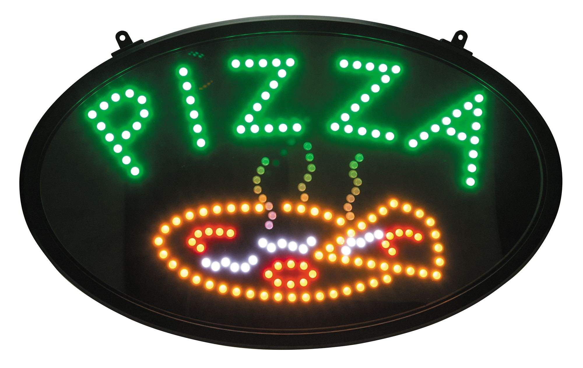 Pizza LED Neon Sign With Transparent Cover