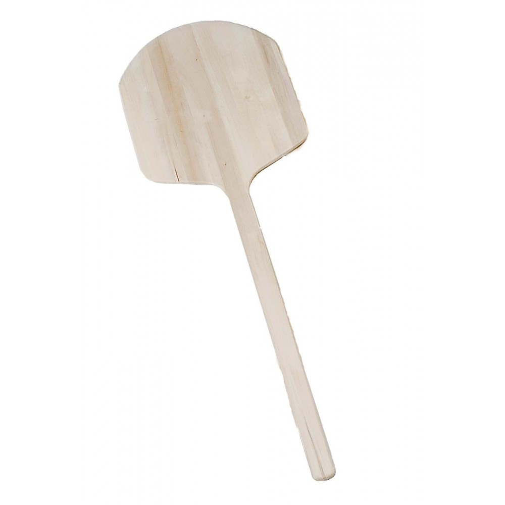 "Johnson-Rose 6113 Pizza Peel. 12"" x 14"" Blade with Long Wood Handle 42"""