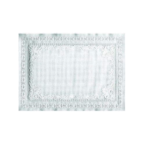 Placemats, 9 3/4 x 13 3/4, White