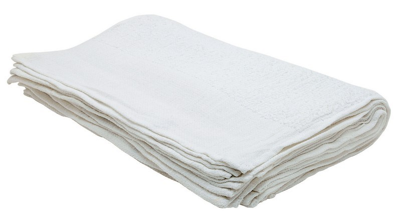 "Johnson-Rose 30908 Plain Cotton 24 oz. Bar Mop Towel 17"" x 20"""