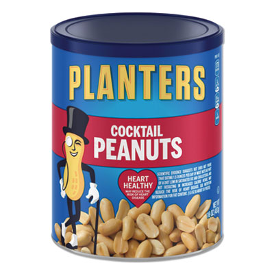 Planters Cocktail Peanuts, 16 oz. Can