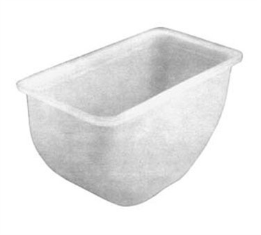 Franklin Machine Products  150-3539 Plastic 1 Qt.Insert for Condiment Tray (150-3530)