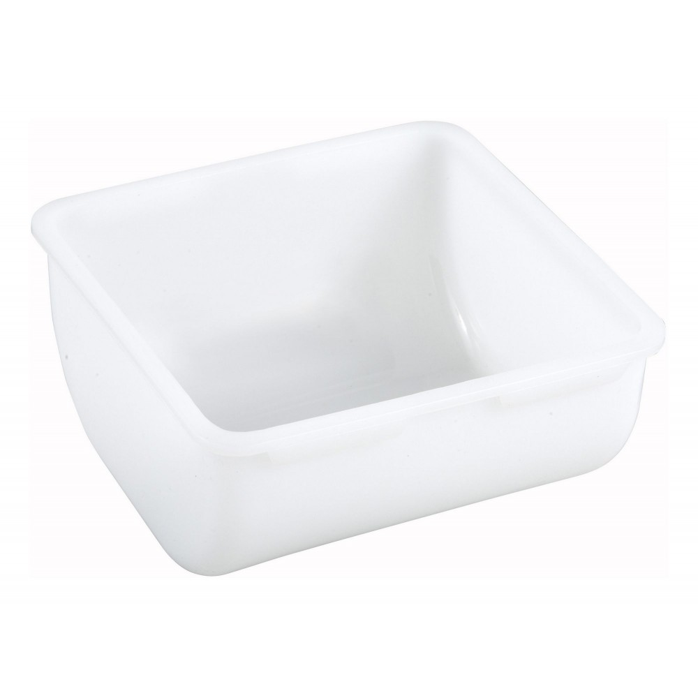 Winco CDP-1Q Plastic Insert for Condiment Caddy 1 Qt.