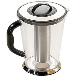 TableCraft 3LKK Plastic 3/4 Gallon Pitcher with Ice-Core Center
