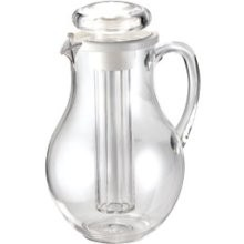 Plastic 3/4 Gallon Pitcher With Ice-Core Center