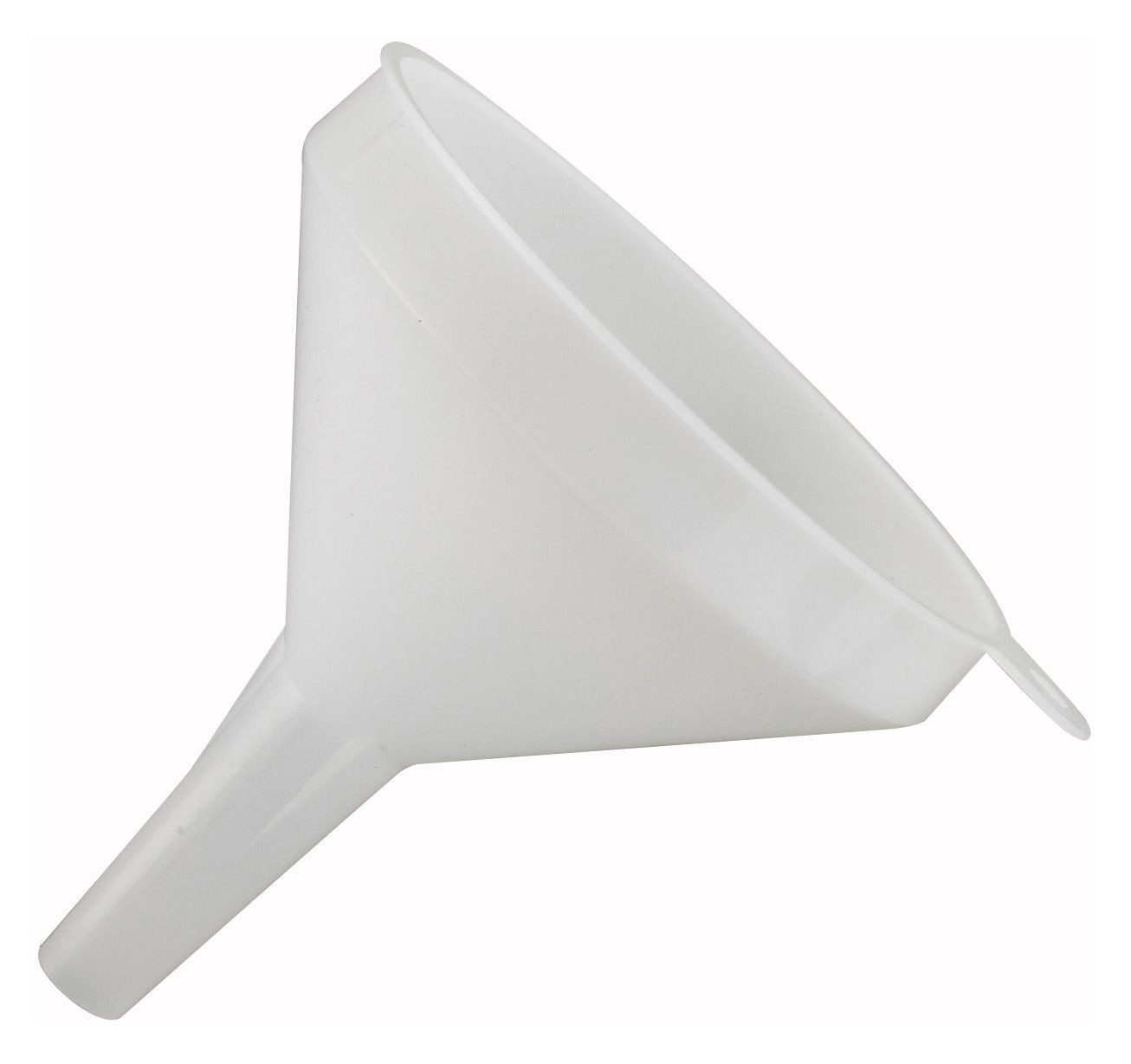 """Winco PF-8 Plastic 8 oz. Funnel 4"""" Dia."""