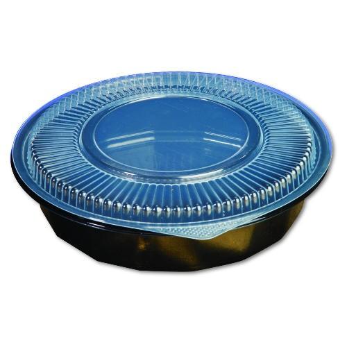 Plastic Bowl Microwave Safe 48Oz- Black