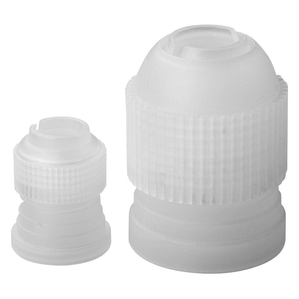 Winco CDTC-2 Plastic Couplers for Cake Decorating Tips